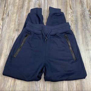 Galaxy by Harvic Navy Blue Athletic Joggers Size M